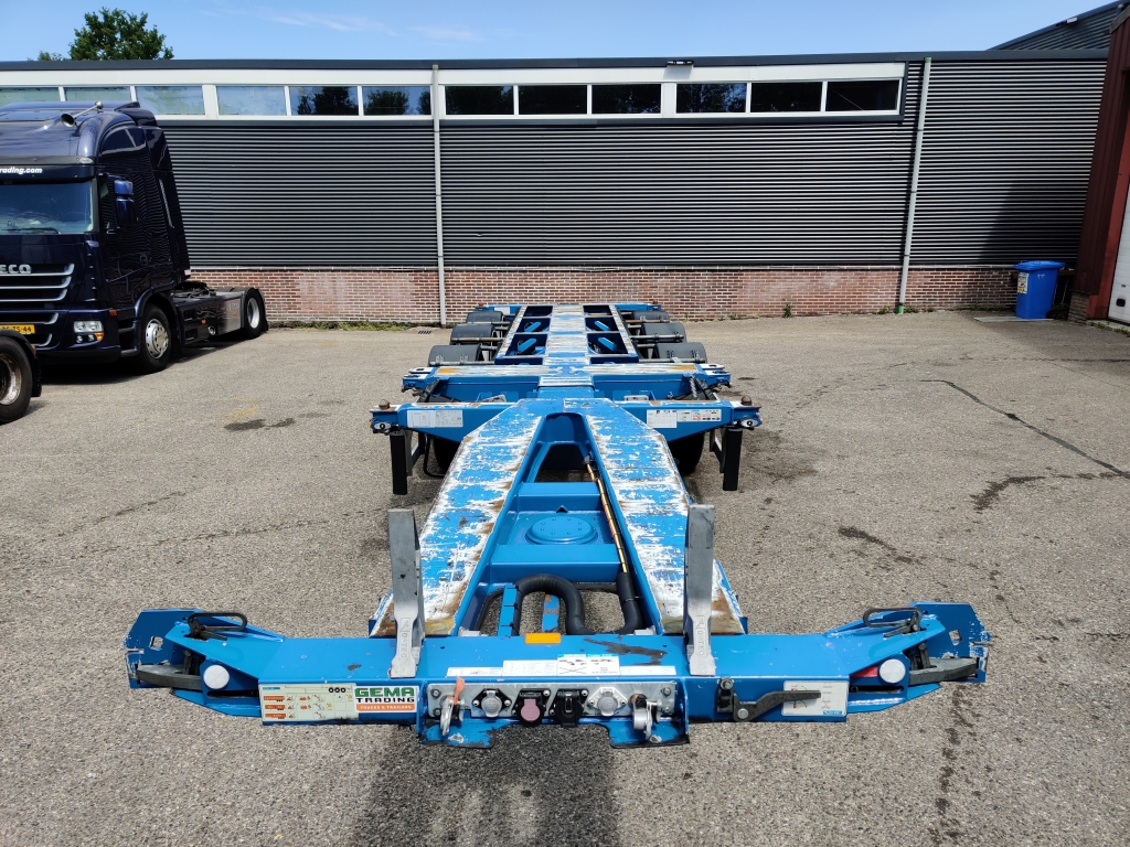 D-TEC FLEXITRAILER MULTI SAF-assen Schijfremmen - Lift-as - 07/2020 APK