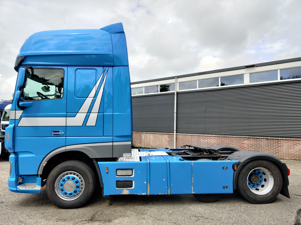 DAF FTP XF 460 6x2 SuperSpaceCab Euro6 - 2 tanks - Stand Airco - Fridge - Microwave - Top-Conditon! 12/2019 APK
