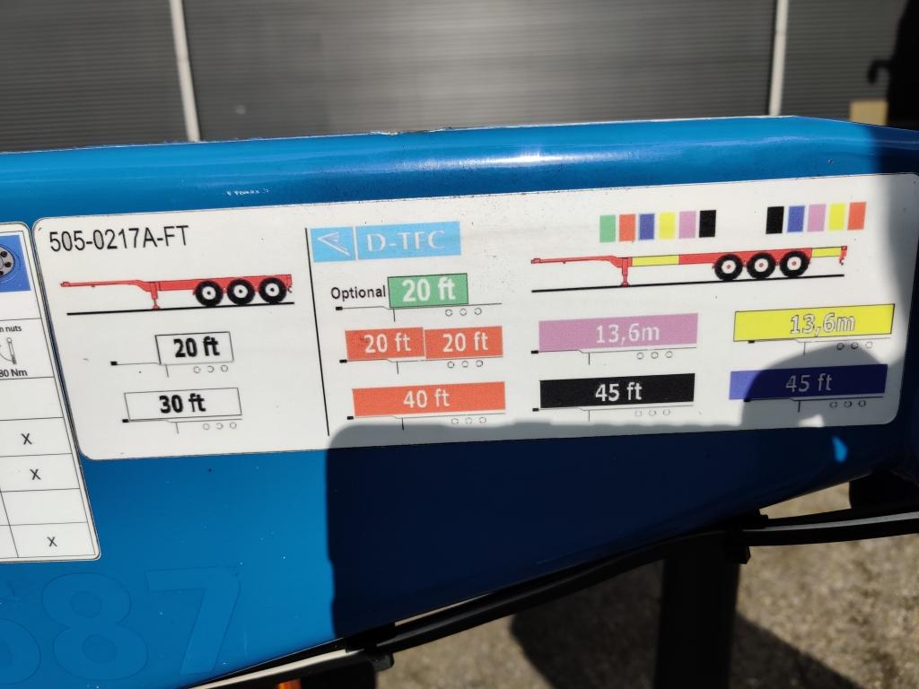 D-TEC FLEXITRAILER MULTI 3 assen SAF - Schijfremmen - Lift-as - 01/2020APK