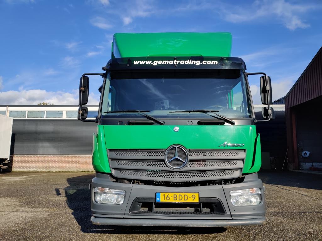 Mercedes-Benz ATEGO 1018 4x2 Dagcabine Euro 6 - 7.20 m Jonkerbak - Dhollandia 1500kg - Zijdeur - Cargo lock